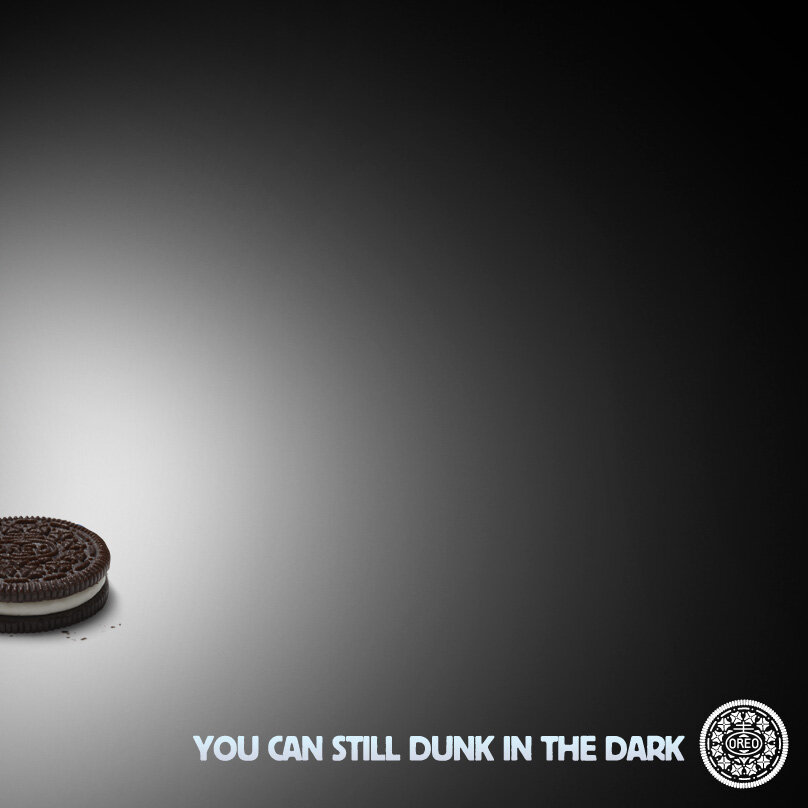Twitter / Oreo: Power out? No problem. ...
