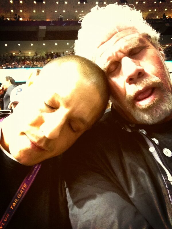 RT @Theorossi: BlackOut is getting to us. #SuperBowl http://pic.twitter.com/h7CSN7XY
