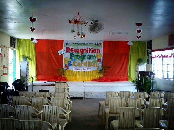 Jeroy Tamayo Burgos On Twitter Done With The Stage Decoration