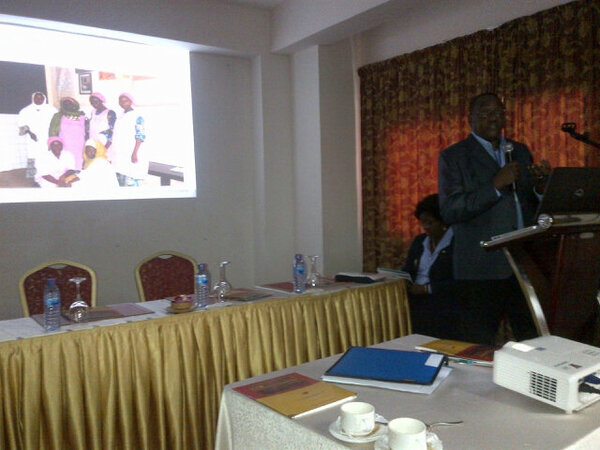 Maina Boucar @usaidhciproject presenting #ISQuaGhana Great results institutionalized in Niger and replicated in Mali http://pic.twitter.com/VQmnww8p