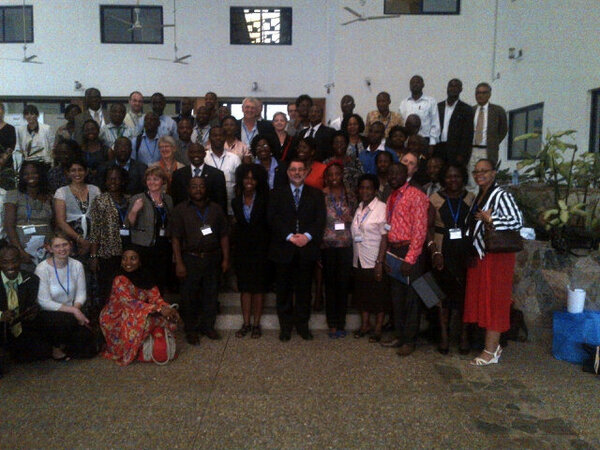 RT @RashadMassoud: #ISQuaGhana wonderful grand finale! Commitment to improve health care and to continue to collaborate together! http://pic.twitter.com/k13hElH6