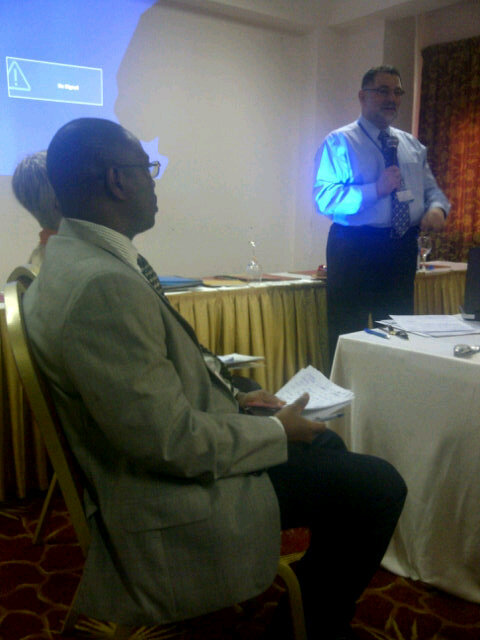 During AM session, @RashadMassoud chaired an interactive panel session on spreading learning & innovation #isquaghana http://pic.twitter.com/F4y1trJv