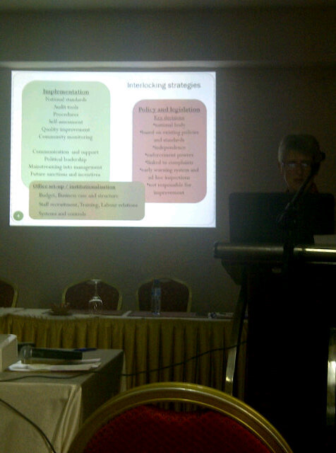 Carol Anne Marshall: Put pressure on govt to respond to public concerns on quality of services #isquaghana http://pic.twitter.com/VoaJ6msG
