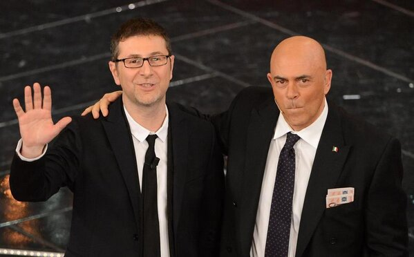 Crozza-Berlusconi a Sanremo 2013 - Video completo