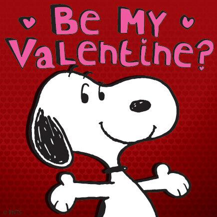 "PEANUTS on Twitter: ""Tomorrow is Valentine's Day! # ..."