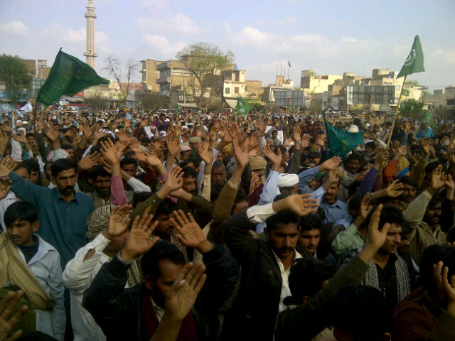 RT @SikanderFyazPTI: Pakistan Kissan Ittehad jalsa in Chishtian against anti-farmer policies of Punjab and central governments. http://t ...