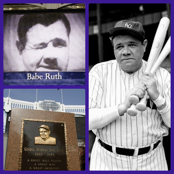 an analysis of babe ruth the sultan of swat Babe ruth was one of only two people (reggie jackson being the other) to ever hit three home runs in a world series game and is the only one to do it twice (1926 & 1928) babe ruth and ralph kiner ranked first and second respectively as the outfielders with the highest average home runs per at-bat.