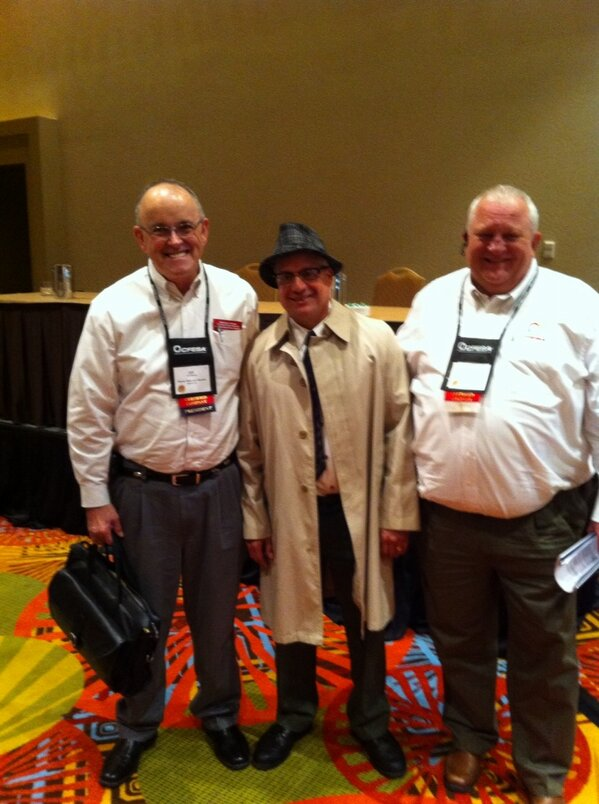 RT @fes_editor: Vince Lombardi offered leadership lessons to attendees at the CFESA Conference prior to #TheNAFEMShow. http://pic.twitter.com/dPbWgFk4