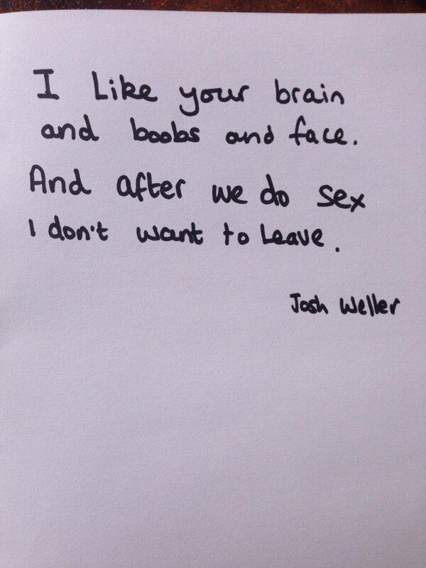 Josh Weller on Twitter: