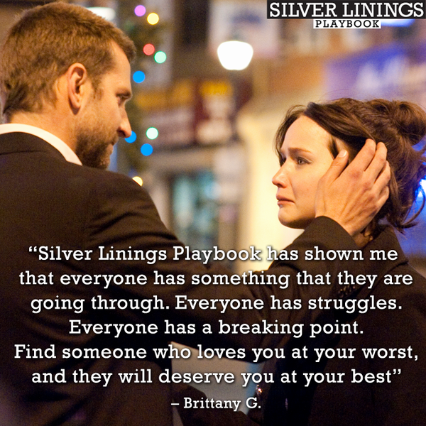 silver linings on twitter find someone who loves you at your