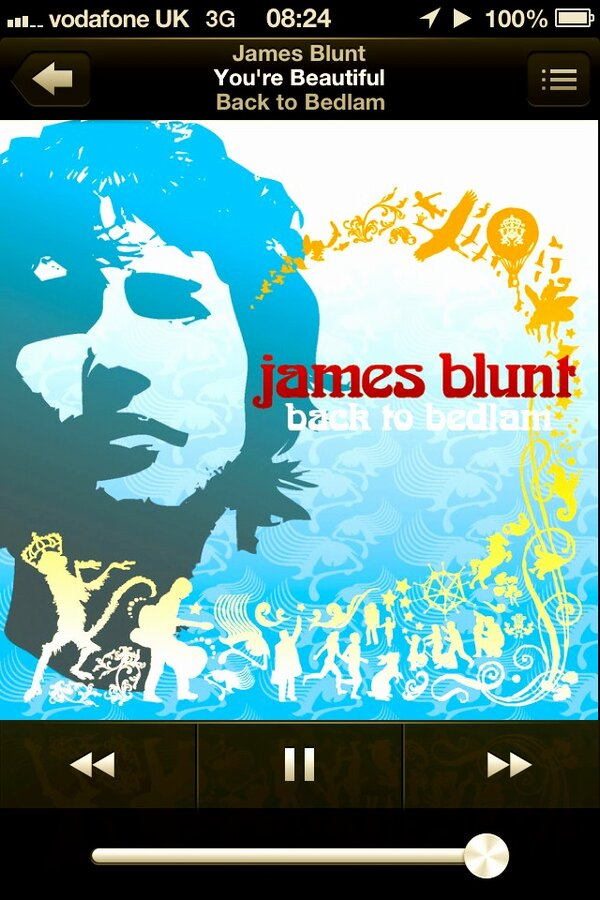 Yeah I just brought this little gem! Judge away! #james #blunt #yourbeautiful<br>http://pic.twitter.com/aZixN3u7