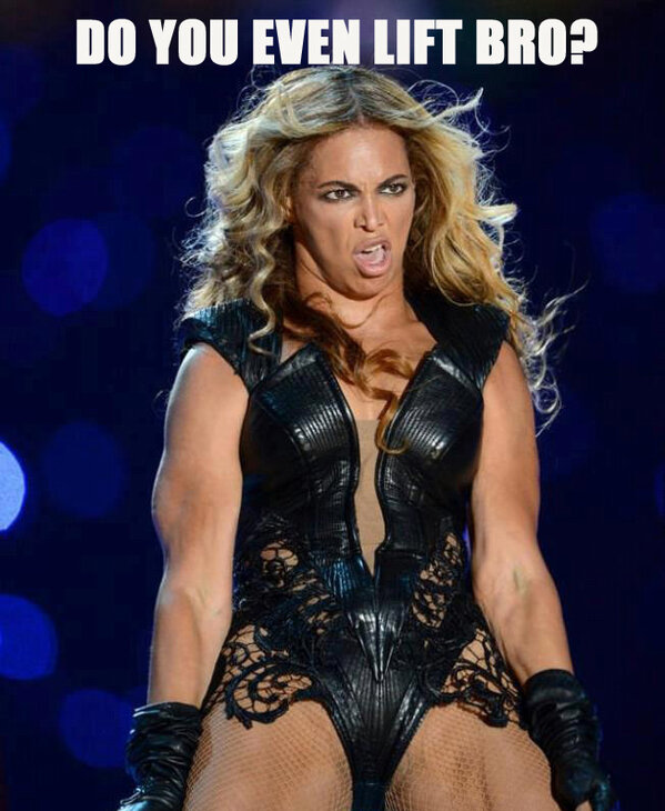 hahah made this meme today. Beyonce has never looked sexier #Beyonce #fail #haha http://pic.twitter.com/HwLT9qs5