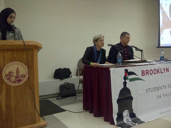 Thumbnail for Judith Butler & Omar Barghouti Speak Out about #BDS at Brooklyn College #CUNY (2/7/13)