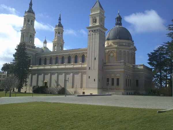 And, wow--what a gorgeous campus @usfca. http://pic.twitter.com/MQ0dticu
