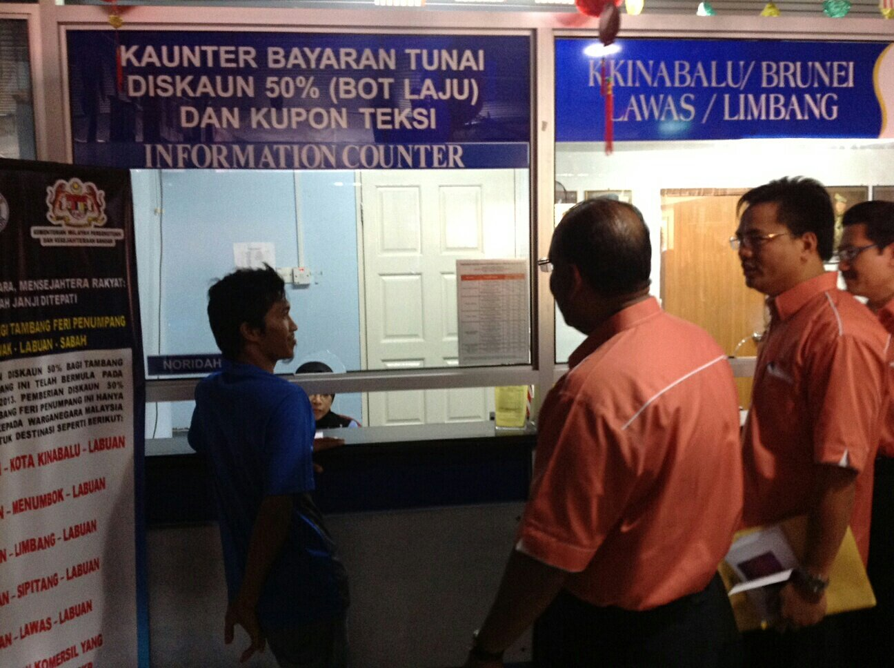 Ataupun mengambil feri ke Kota Kinabalu? #turunpadang http://t.co/TLuiDuf6