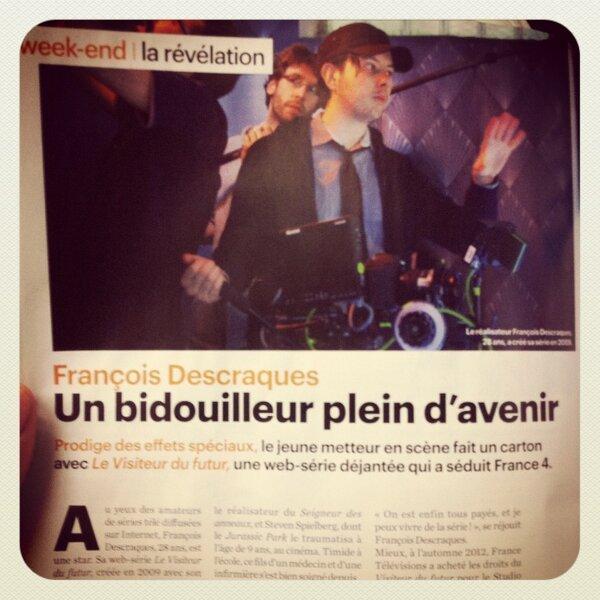 [Article] François Descraques dans le Parisien Magazine BCkx_DICQAAYAnu