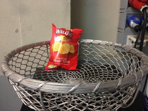 ウォルカーズのポテトチップス