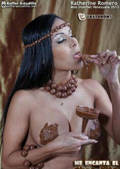 Chica Desnuda Cubierta De Chocolate - esbiguznet -