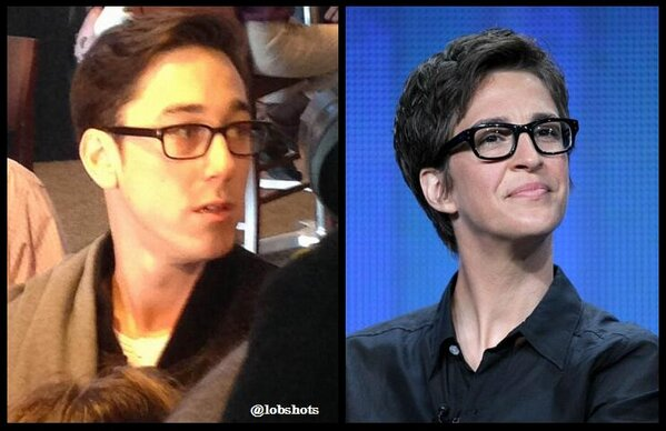 RT @LobShots: Wow. Tim Lincecum is now Rachel Maddow. Awesome. http://www.lobshots.com/2013/02/08/tim-lincecum-is-rachel-maddow/ http://pic.twitter.com/mA3TrXhi