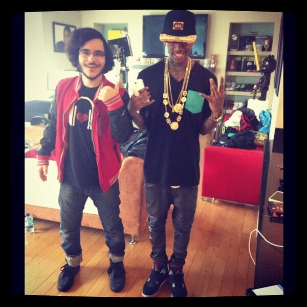 mazy kazerooni on twitter swagged out with souljaboy http t co