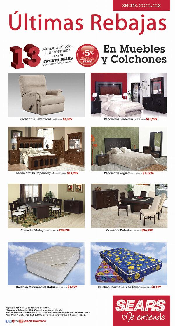 Encantador Sears Colchones De Muebles De Salida Galería - Muebles ...