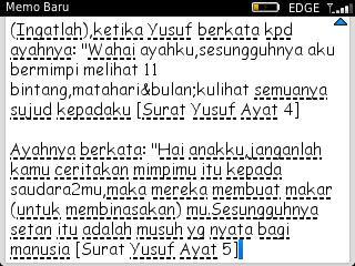 Islam Agamaku On Twitter Surat Yusuf Ayat 4 Dan 5 Httpt
