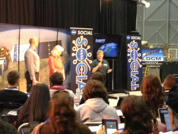 Twitter / NASAKennedy: The #Landsat #NASASocial guests ...