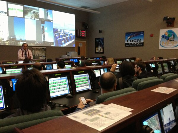 Twitter / NASAKennedy: George Diller, NASA's Launch ...