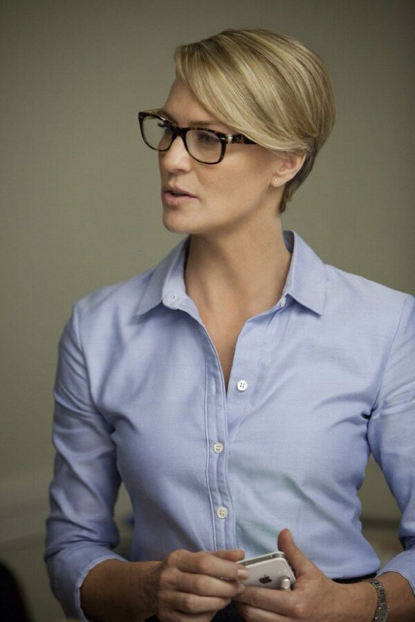 ray ban new wayfarer frames  What Glasses Does Robin Wright Wear in House of Cards?
