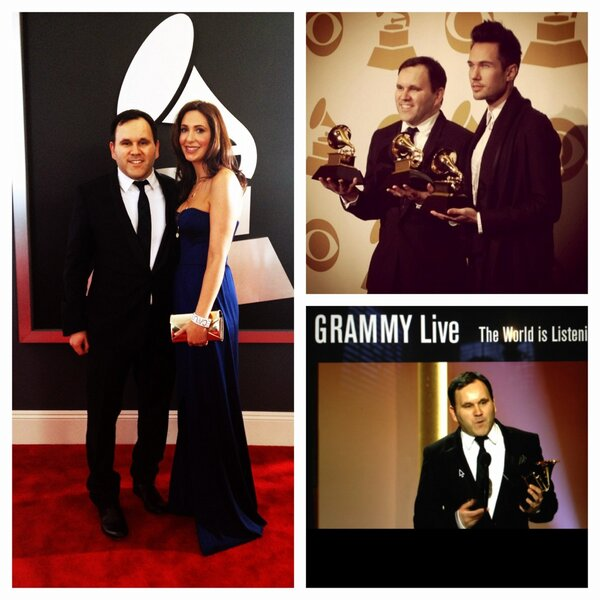 We wrote this song for the glory of God, so He gets all the glory today too :) #grammys #10000reasons http://t.co/r1Bxn6ZI