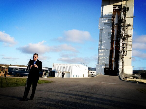 Twitter / NASAKennedy: Center Director Robert Cabana ...