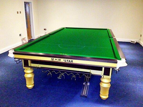 Barker Billiards BarkerBilliards Twitter - Star pool table