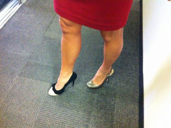 ginger zee is feet