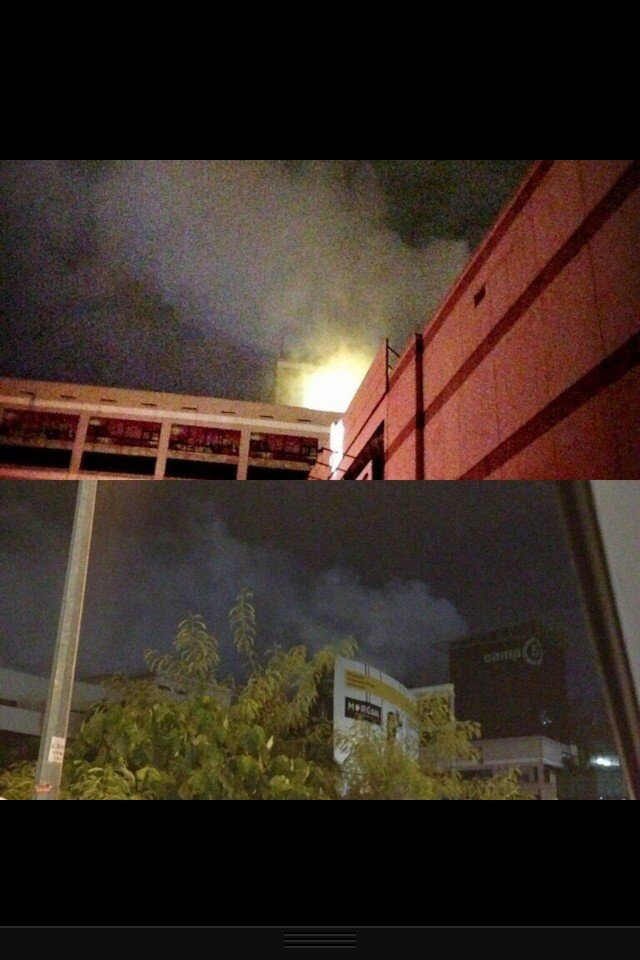 1Utama Old Wing and New Wing Power Failure, Outage, Blackout! Then 1Utama On Fire?