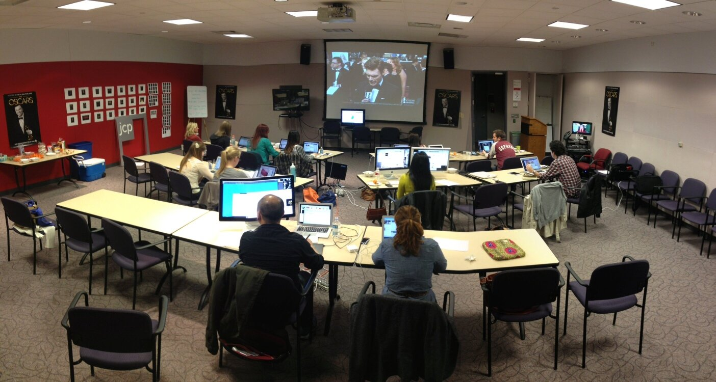 jcp Oscars 2013 Social Media Command Center