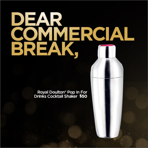 jcp Oscars 2013 campaign - Dear Commercial Break,