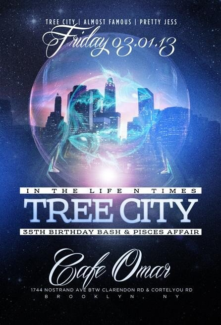 March 1, 2013 - Tree City Birthday Party at Cafe Omar .... Flyer attached  @treecity http://t.co/hV768eVdZt