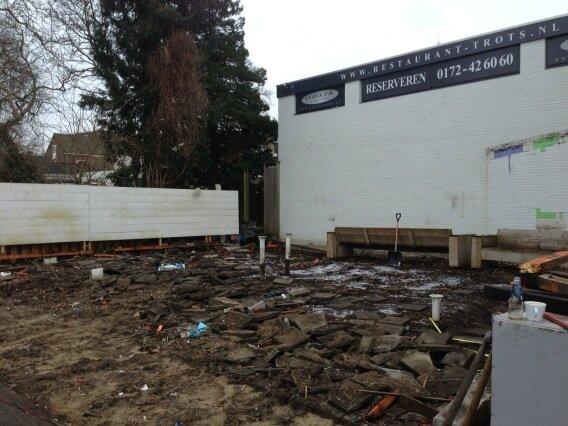 Nieuw terras voor restaurant trots for Lay outs terras van het restaurant