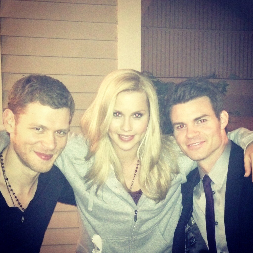 [Foto] Joseph, Claire e Daniel pronti per The Originals