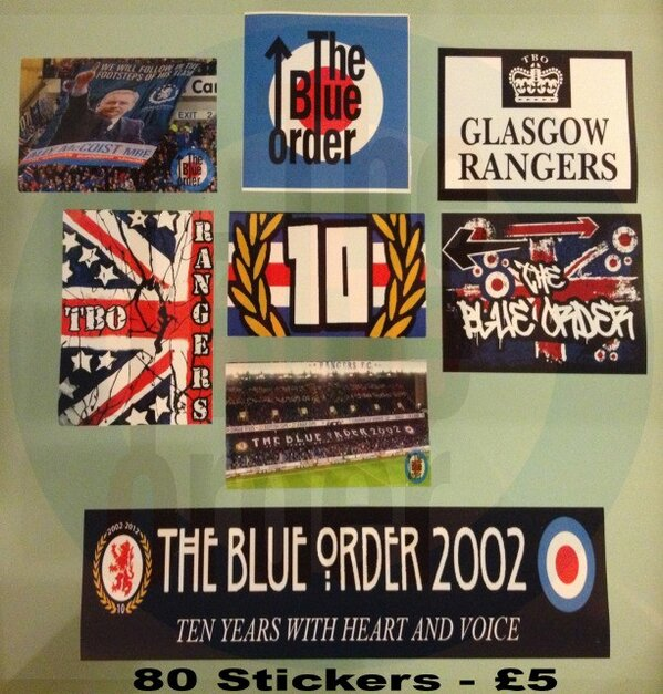 The blue order on twitter tbo official tbo stickers batches of 80 for £5 tbo10 http t co keenyszm