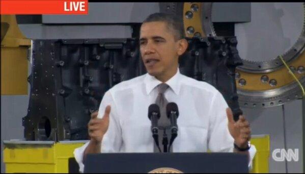 RT @NCMattJ: President Obama speaking at Linamar in Asheville. http://pic.twitter.com/9tLbC1qv