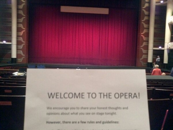 Made it to @palmbeachopera for #pbocinderella! The orchestra is getting warmed up. http://pic.twitter.com/BSpESAty