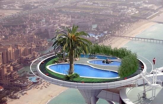 El mundo en im genes on twitter piscina en el cielo de - Fotos de piscina ...
