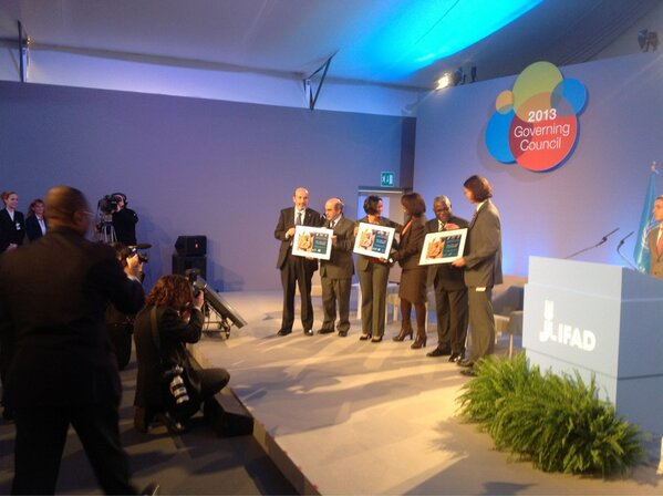 RT @IFADnews: our lovely @unfao, @wfp and @IFADnews colleagues well done team!!! We are very proud of you #ifadgc http://pic.twitter.com/g0ekDplT