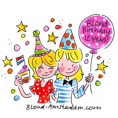 Blond Amsterdam On Twitter Quot Blond Is Vandaag Jarig 12