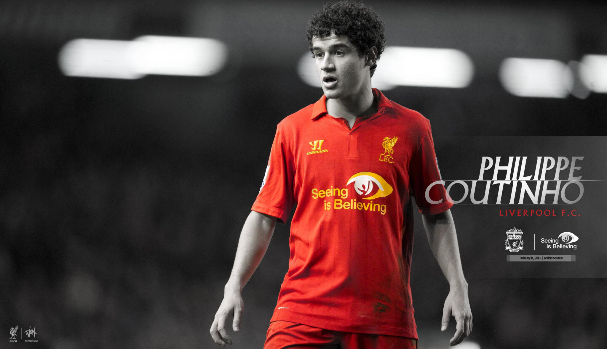 """Dian On Twitter: """"""""Philippe Coutinho"""""""" #Wallpaper @LFC"""