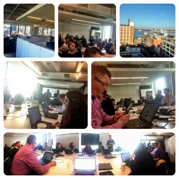 Amazing group of IBMers here at Ogilvy today #ibmsmm http://pic.twitter.com/Dfwi5DHn