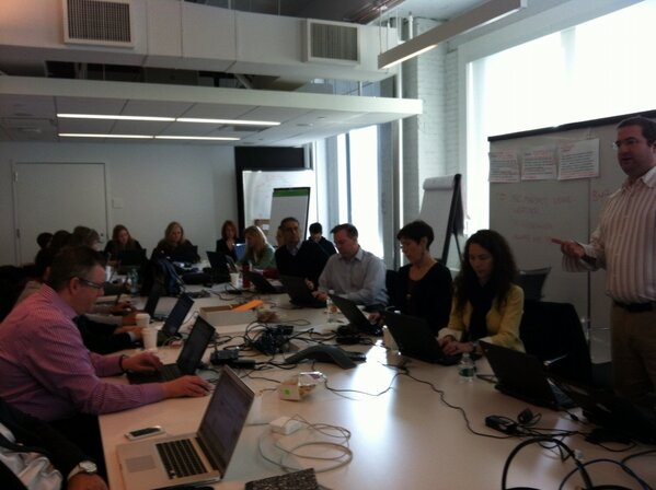 #IBMsmm social strategy meeting...big ideas coming to life! #smartercommerce. http://pic.twitter.com/gPC8HVMu