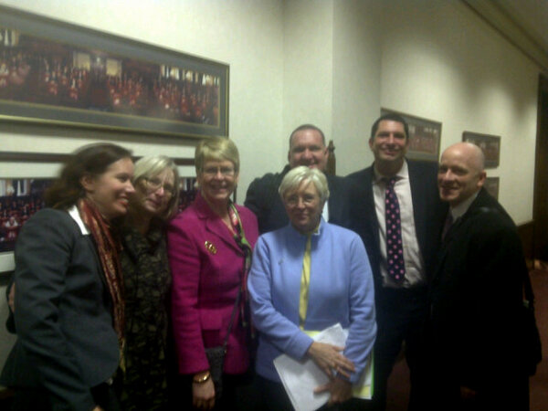 Marriage team post senate victory! #ILove #IL4 http://pic.twitter.com/j9t9y8AC