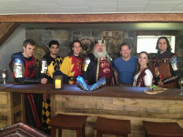 Man Caves Casting : Medieval times on twitter quot man cave unveil with